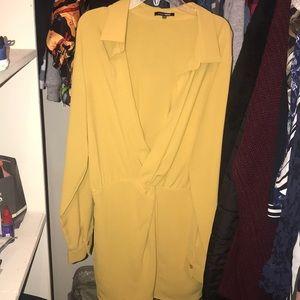 Skort Yellow Romper